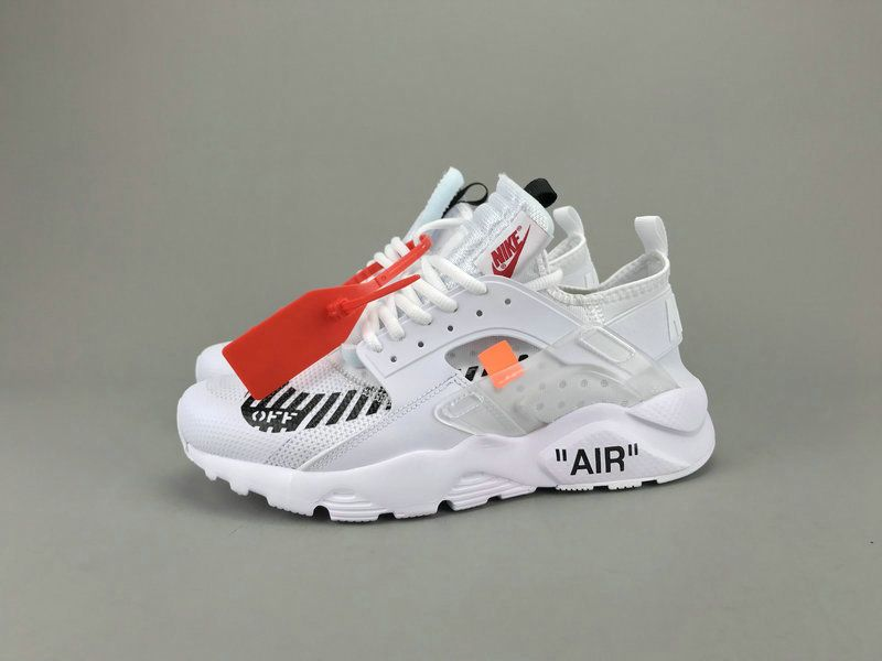 Big Discount Off White x Nike Air Huarache Ultra ID AA3841,100 White