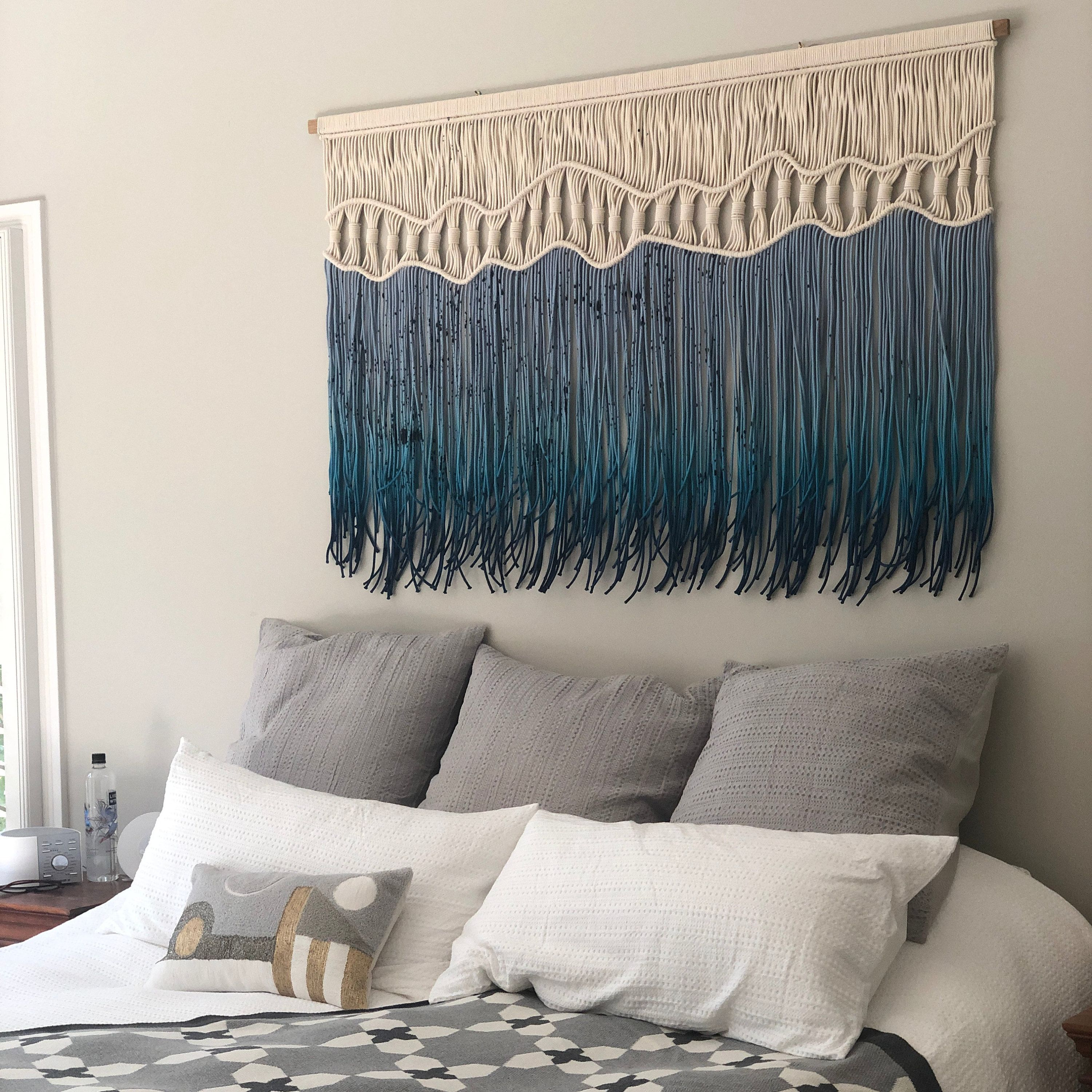 Extra Large Macrame Wall Hanging Woven Wall Art Big Fiber Etsy Macrame Wall Hanging Woven Wall Hanging Large Macrame Wall Hanging