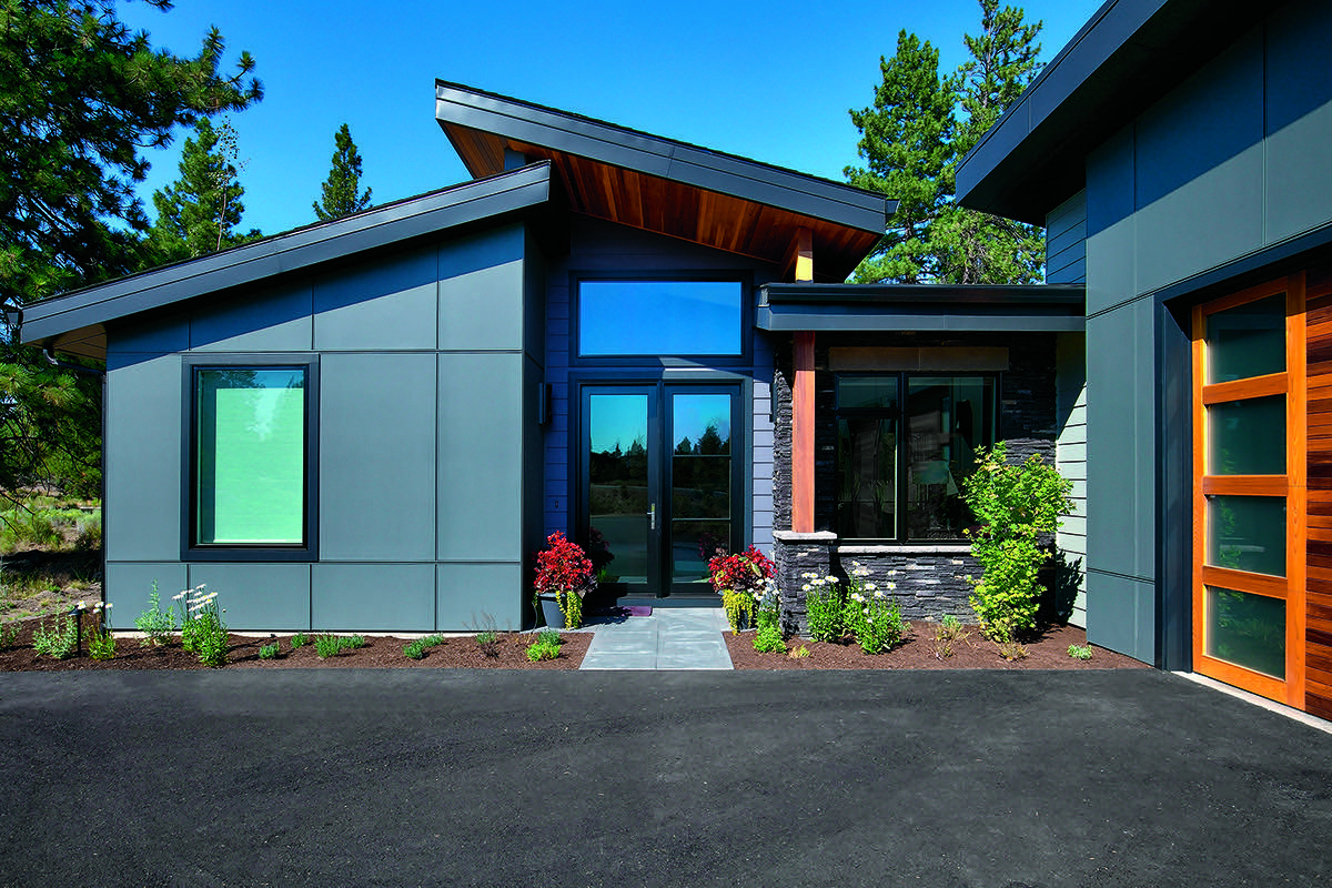 Smoky Blue By Sherwin Williams House Exterior Blue Sherwin Williams Exterior House Colors Exterior House Colors