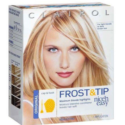 Clairol Nice N Easy Frost And Tip Highlighting For Light Blonde To Dark Brown Hair Original Read More At The Image Link