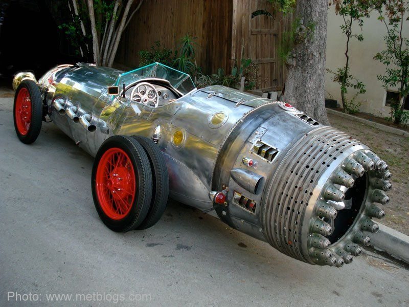 Baron mobili ~ Crazy one of a kind rocket car made by baron margo. view more of