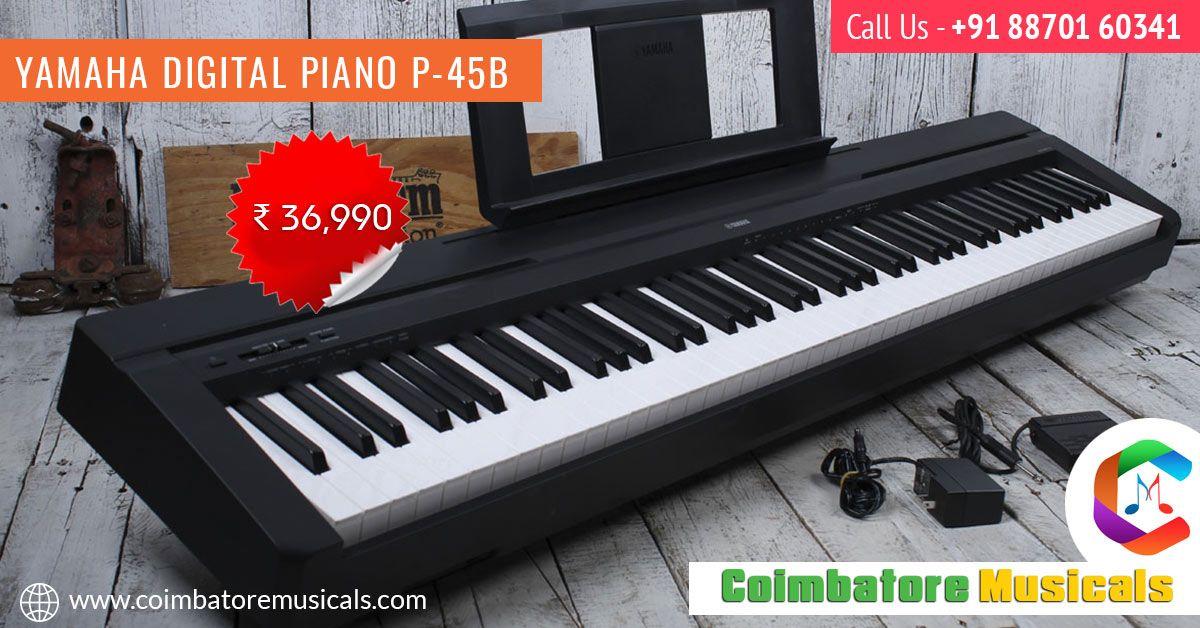 Yamaha Digital Piano P 45b Yamaha Digital Piano Digital Piano Piano
