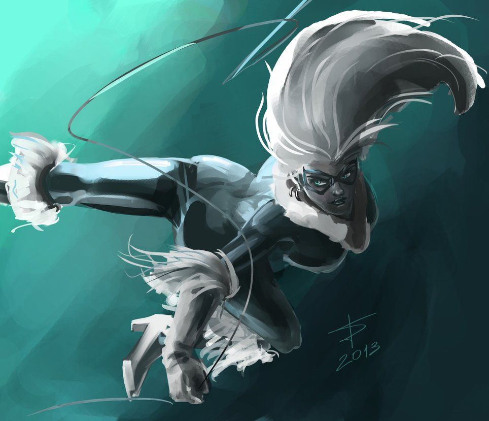 Following venom.. I decided to make a speed painting of black cat... Done with painter.. and i had a lot of fun working on the lighting for this...
