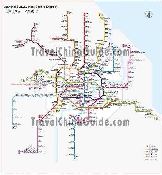 Printable Shanghai Subway Map.Shanghai Subway Map China Transportation China Map Map Subway Map