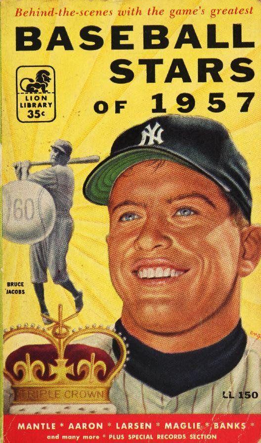 1957 NEW YORK YANKEES - Vintage Baseball Poster   Baseball posters ...