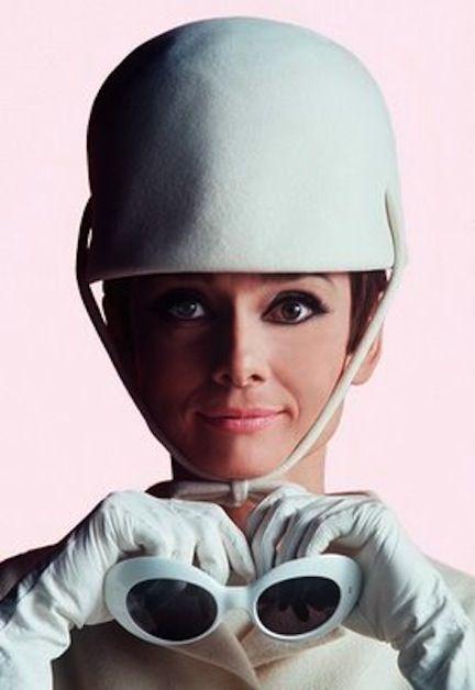 Audrey Hepburn. #vinatge