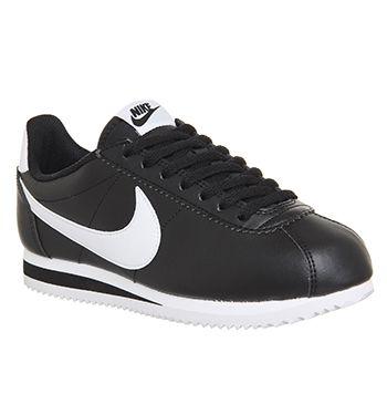 finest selection ecbab 21e11 Nike Classic Cortez Og New Black Dark Grey White Leather - Unisex Sports