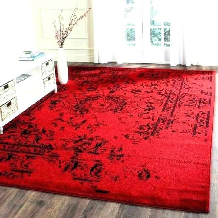 The Best Red Kitchen Rug Arts Awesome Red Kitchen Rug For Solid Red
