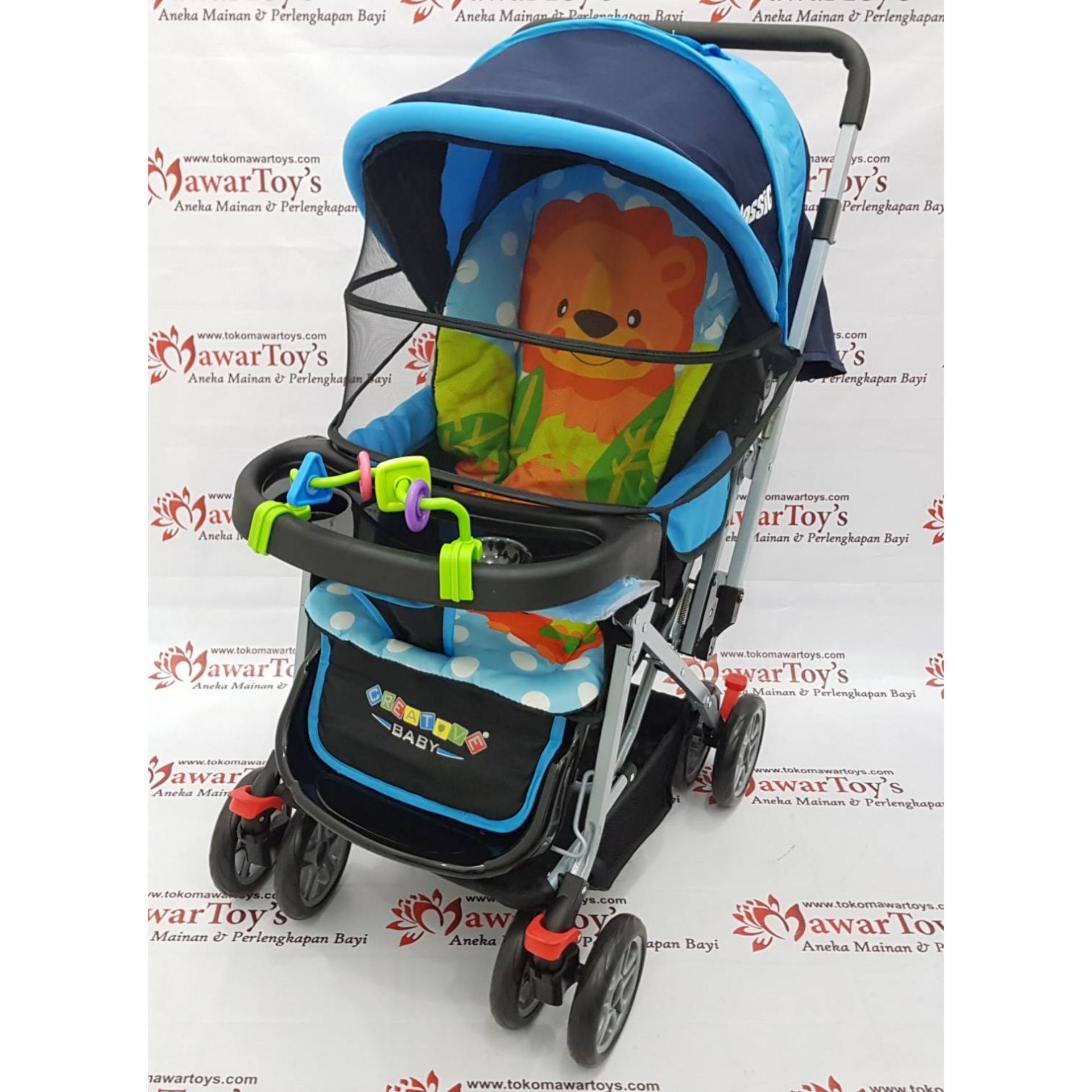 MURAH Stroller Pliko Creative Classic BS218 (Original
