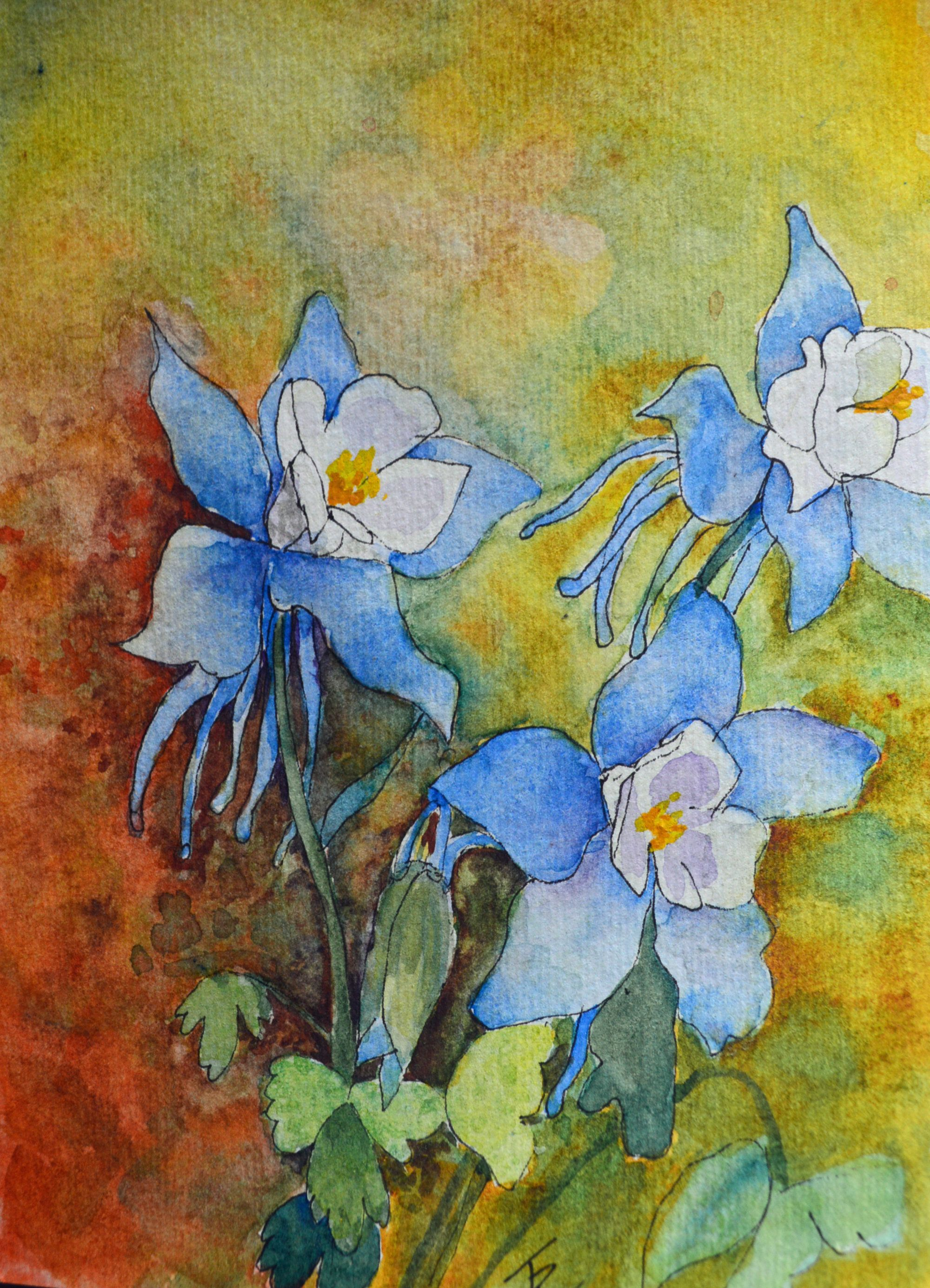 Pin By Terri Robertson Fine Art On Subject Matter In 2020 Spring Painting Watercolor Wall Art Watercolor And Ink
