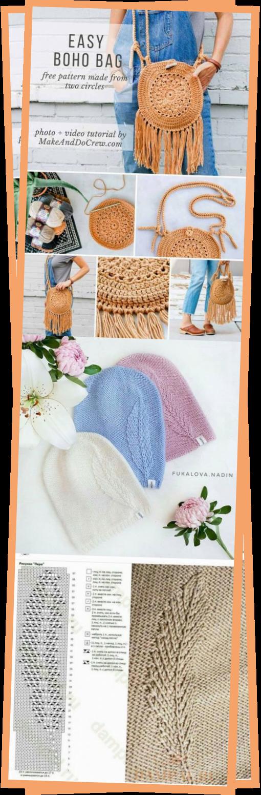 Photo of Einfach Hkeln Boho Bag Kostenlose  Crochet-Muster – Diy Fur Beste – Wellecraft