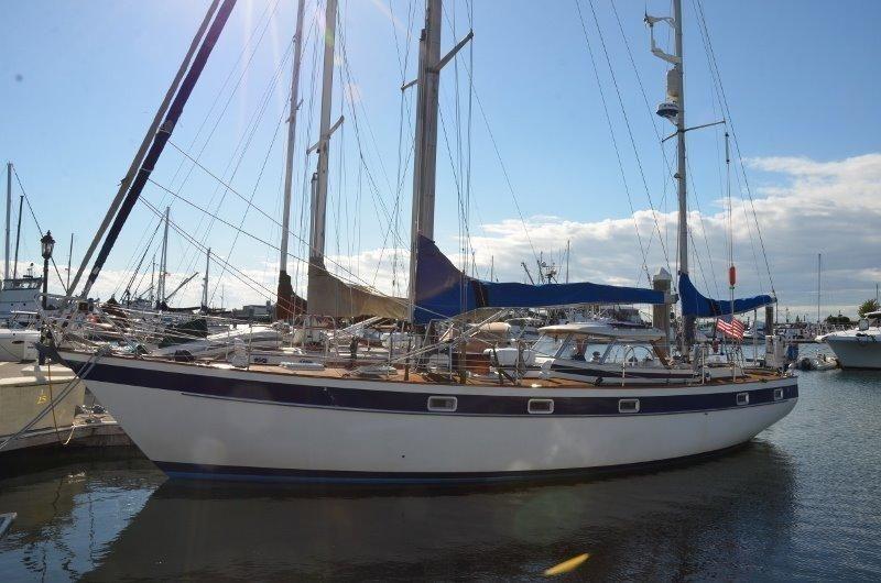 1983 Hallberg-Rassy 42E Hard top HR42 Ketch Sail Boat For Sale