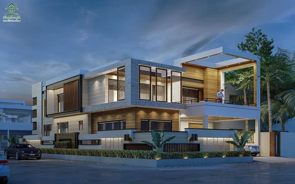 Pin By Dilip Kumar On Vertical House Styles Contemporary House