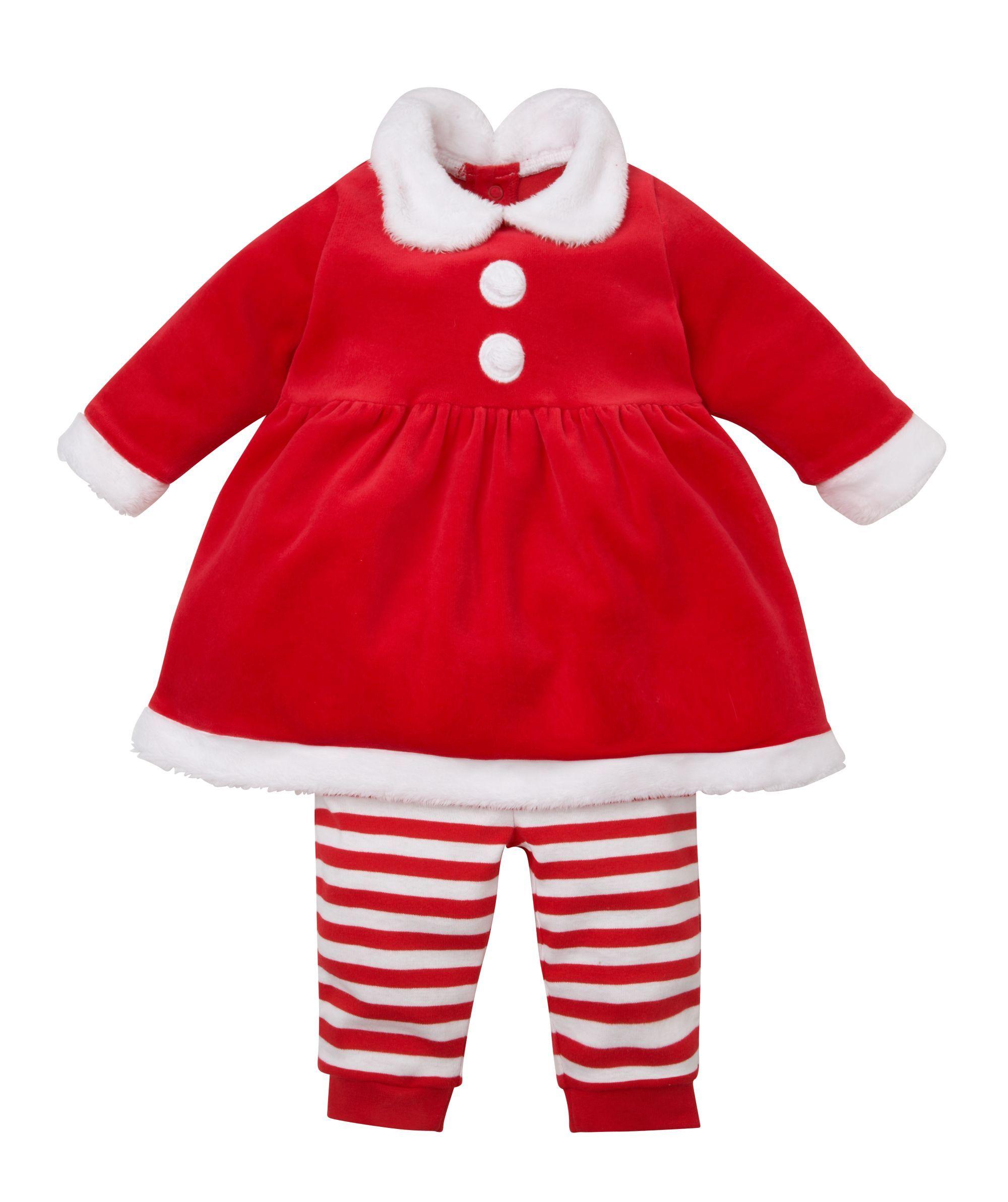 Mrs Santa Dress Up Leggings and Dress