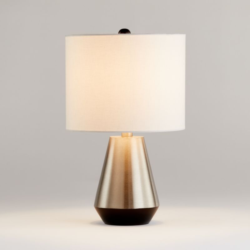Pin By Marilyn Hughes On For The Home Nickel Table Lamps Table Lamp Lamp