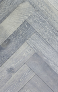 Silver White Herringbone Parquet Flooring Blocks In 2020