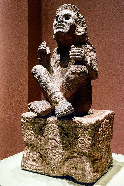 Aztec God Statues