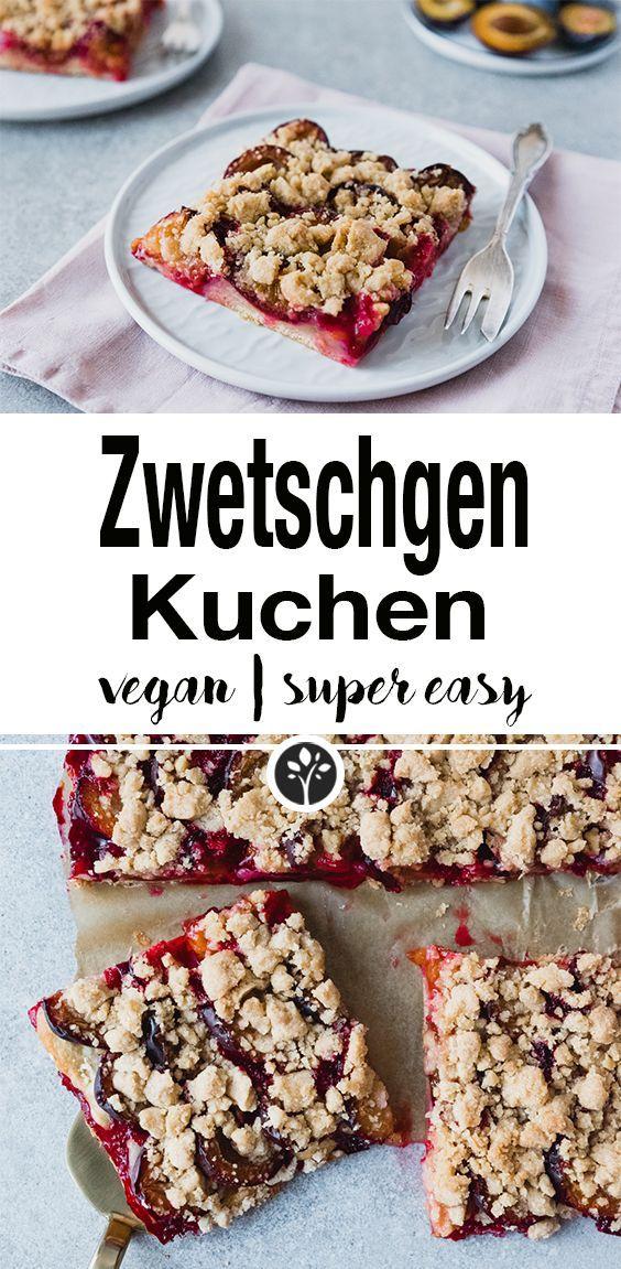 Veganer Zwetschgenkuchen | NataschaKimberly