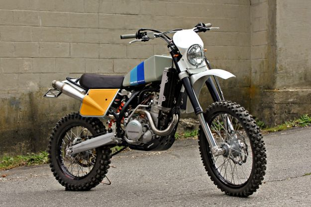 KTM 450 EXC customized by Walt Siegl | Cool, old iron | Enduro