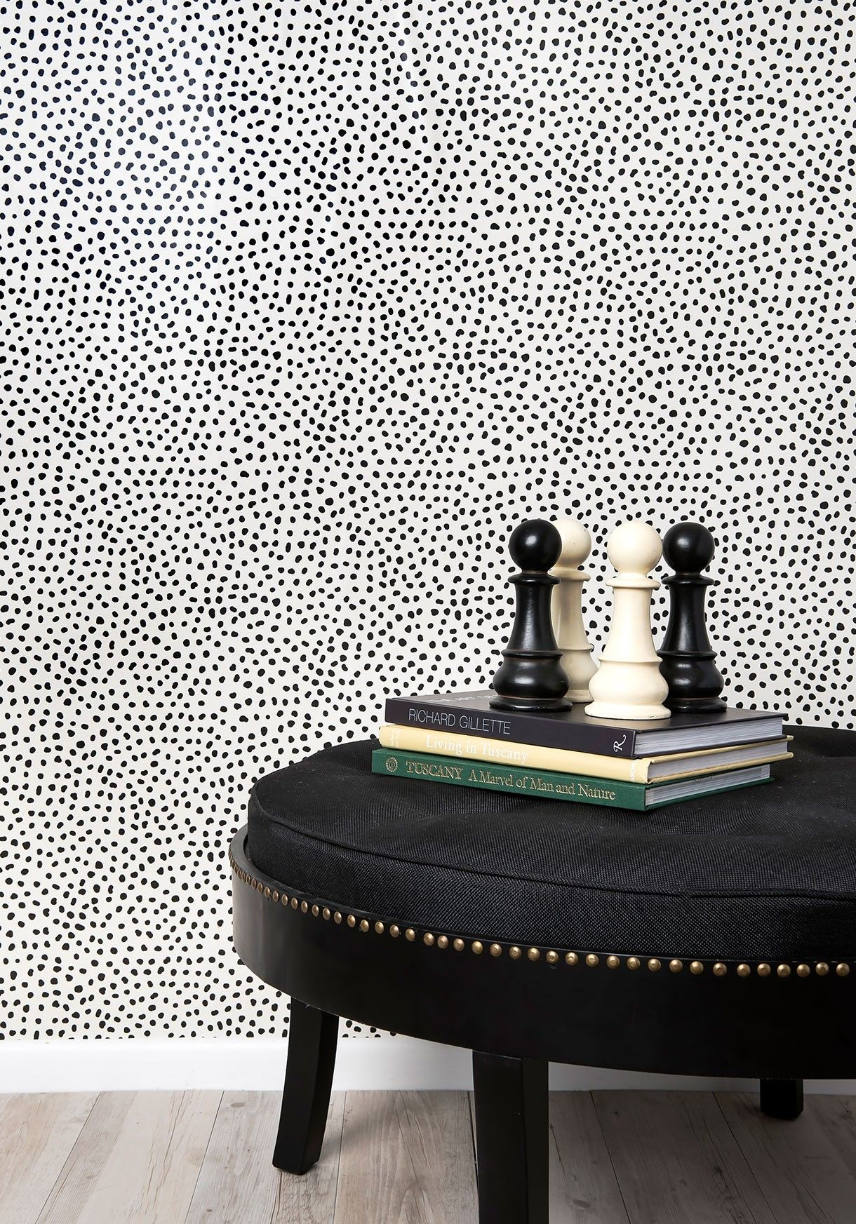 Huddy S Dots Luxurious Spotted Wallpaper Milton King