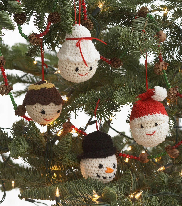 Amigurumi Ornaments Joann Jo Ann Christmas Ornament Pattern Christmas Crochet Patterns Crochet Xmas