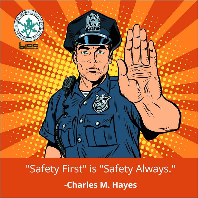 Safety first is safety always charles m hayes visit