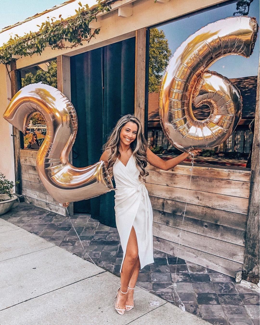 26 Birthday Big Number Balloons Gianasiska Agianathing Com