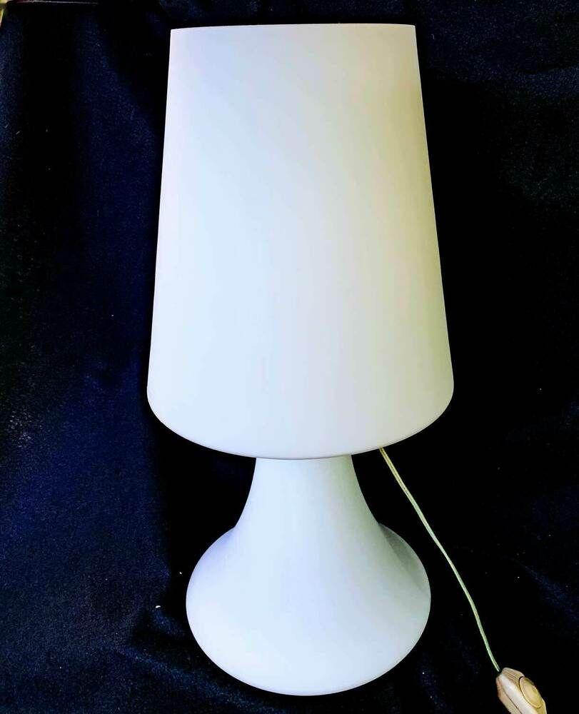 Mushroom Lamp Italian Vintage Mid Century Modern Murano Glass White Fungo Huge Ebay Modern Murano Mushroom Lamp Art Glass Lamp