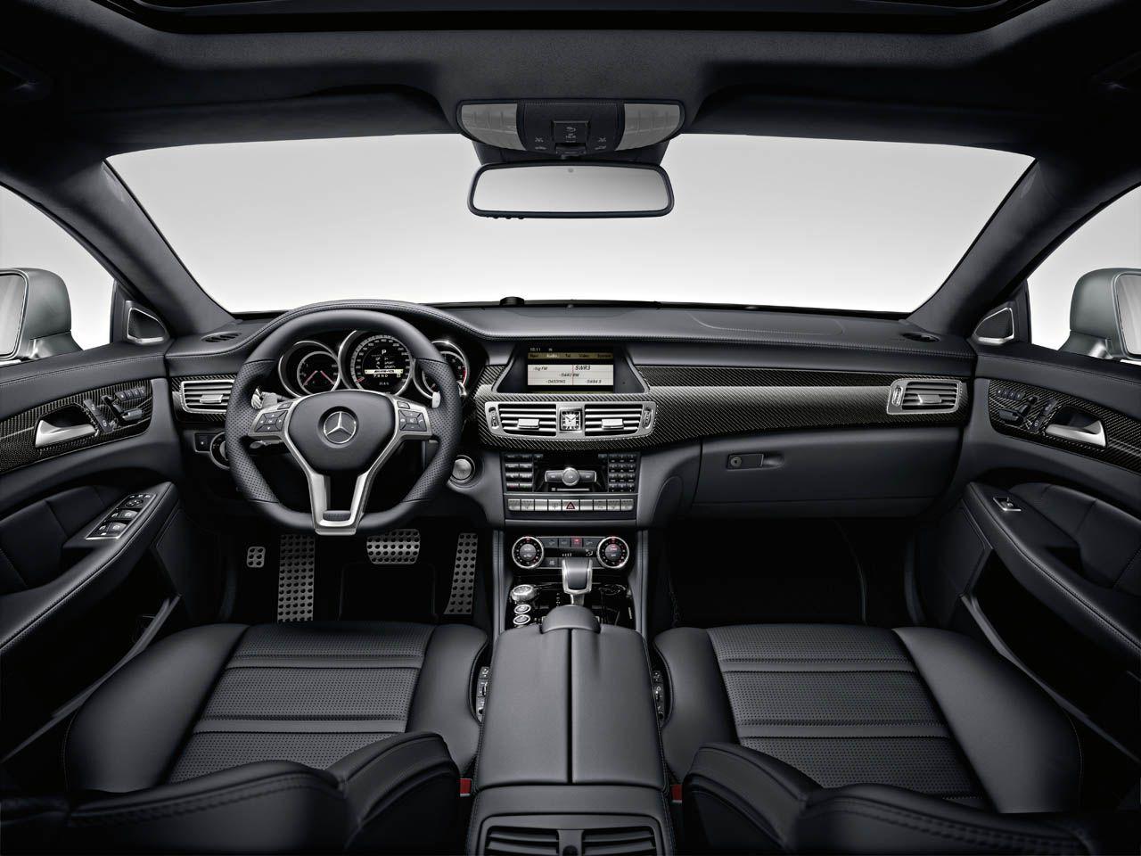 Mercedes Benz Cls Interior With Images Mercedes Cls Mercedes