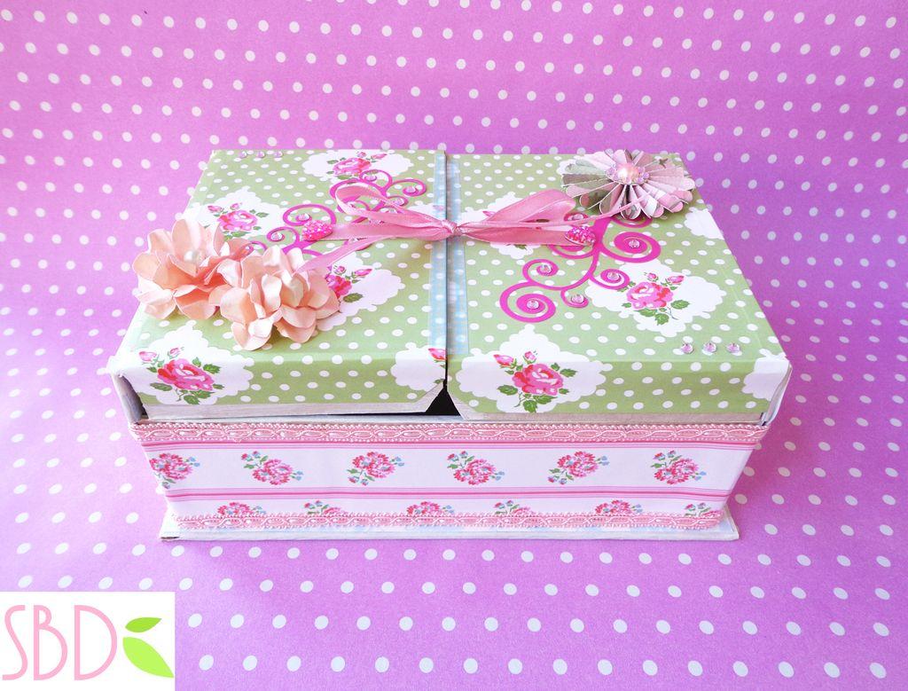 Tutorial scatola porta gioie jewelry box diy by sweetbiodesign