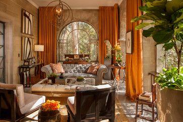 Greystone Mansion Solarium Lounge
