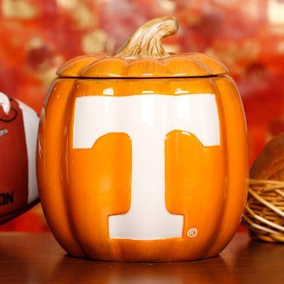 Tennessee Volunteers Ceramic Pumpkin Jar Tennessee Volunteers Football Tennessee Volunteers Tennessee