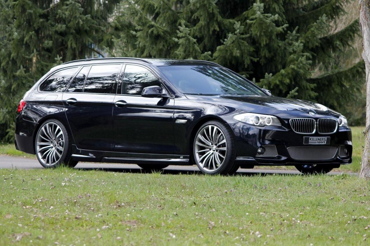 Kelleners sport now offers a comprehensive range of accessories for the current bmw 5 series touring the elegant aerodynamic parts provide the 5 ser