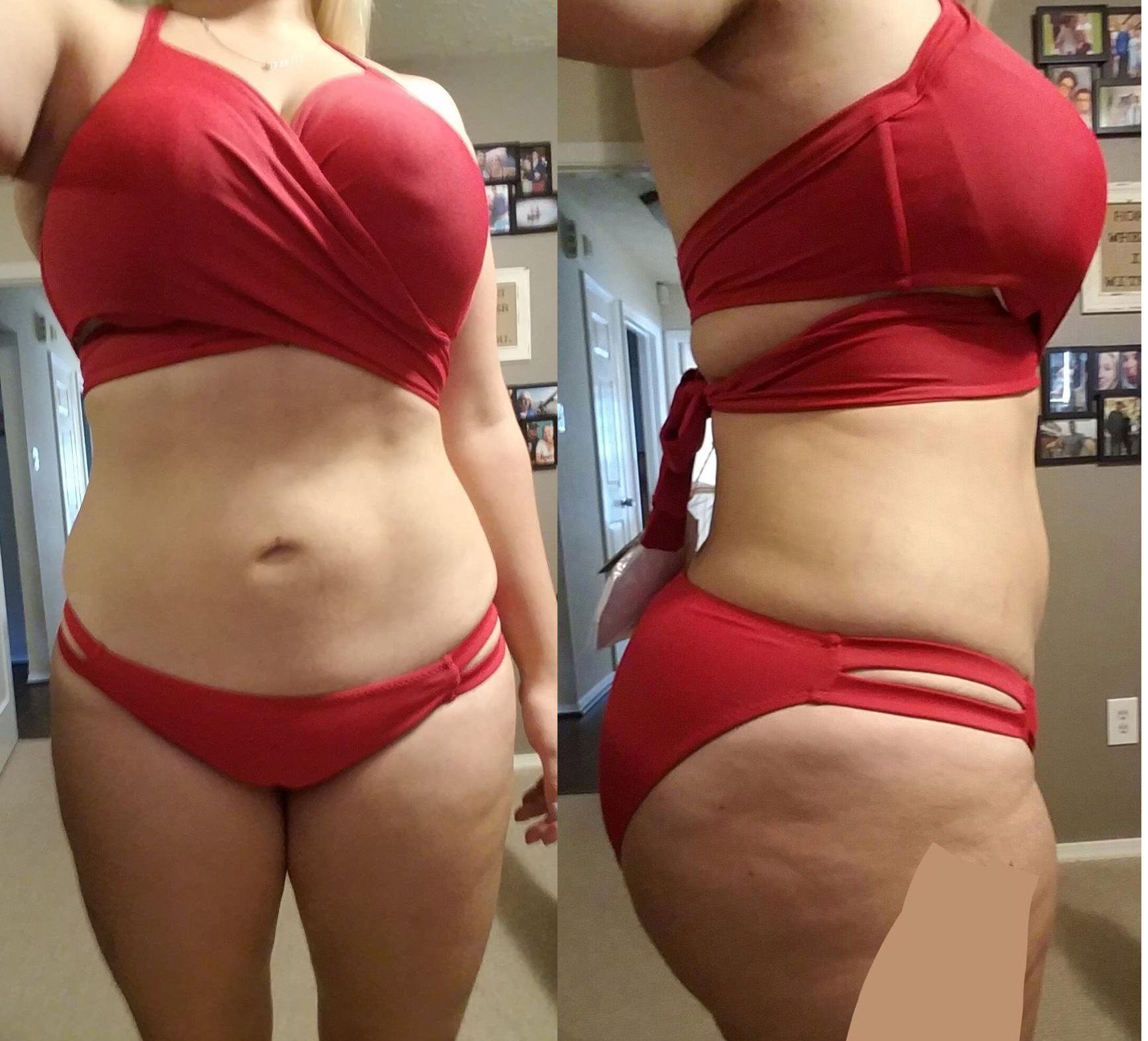 07b561795e Zeraca Women s Wrap Halter Criss cross Bikini Bathing Suits