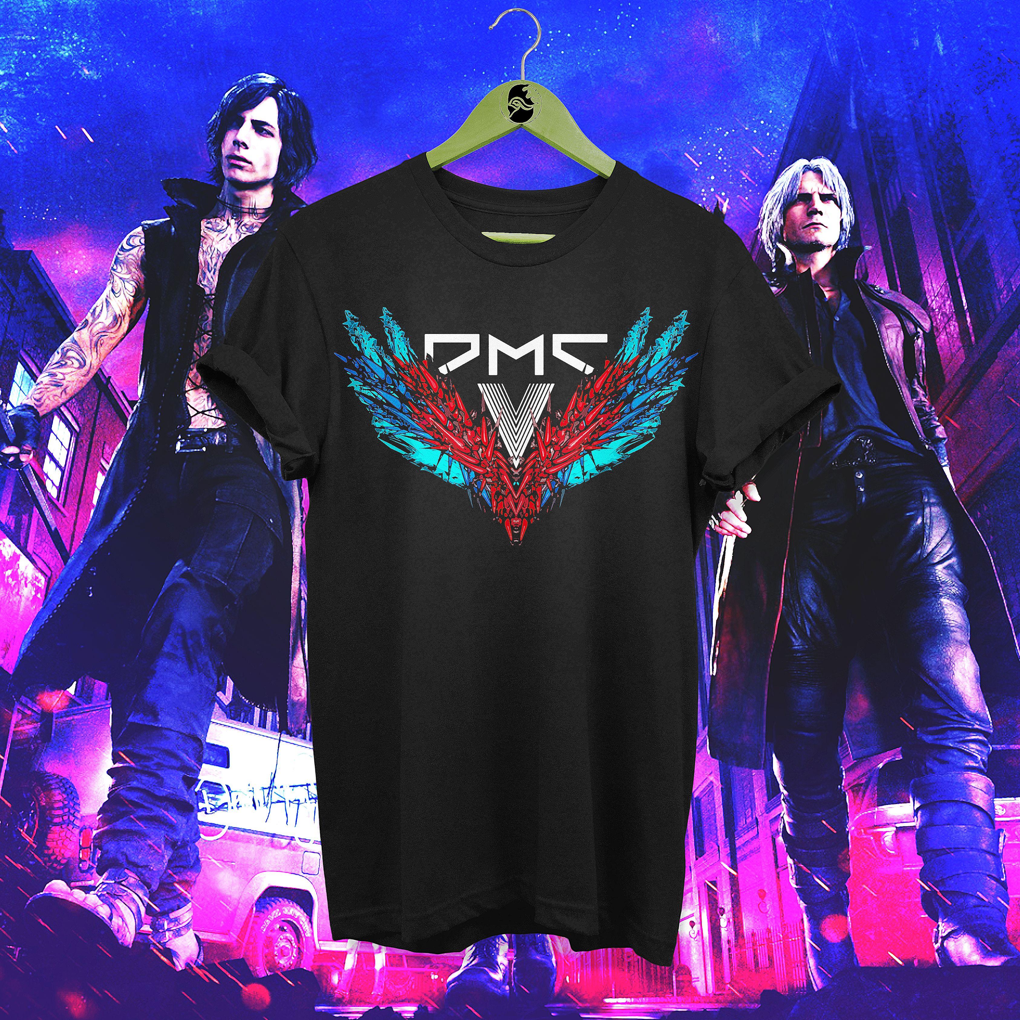 Devil May Cry 5 Logo T-shirt | Displate thumbnail