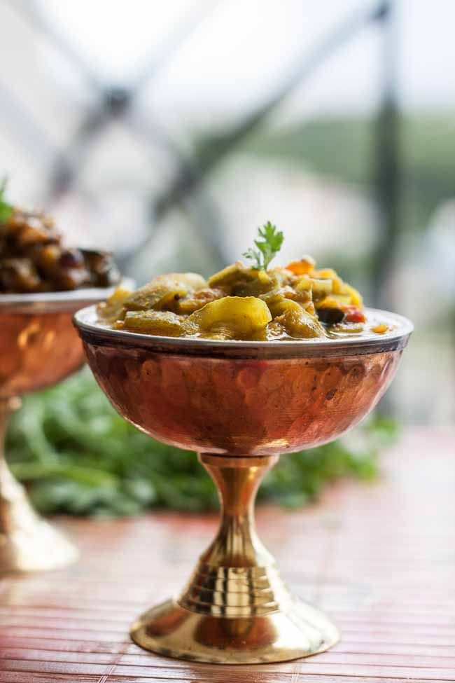Turia muthia nu shaak recipe turai sabzi gujarati style indian turia muthia nu shaak is an authentic gujarati recipe that is made from ridge gourd and cooked in fenugreek leaf dumplings called muthia to pair up with forumfinder Image collections