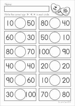 Valentine S Day Math Literacy Worksheets Activities No Prep Math Literacy Spring Math Kindergarten Literacy Worksheets