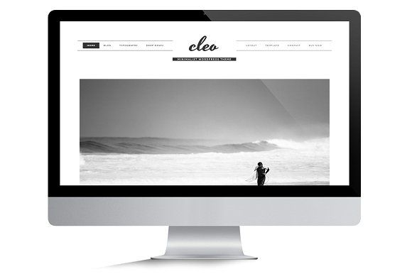 Cleo Theme • Genesis Framework by Code + Coconut on @creativemarket ...