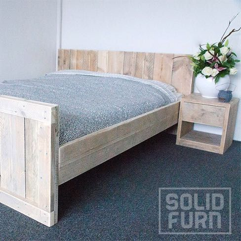 Loading Rustic Wooden Bed Wooden Bed Frames Furniture