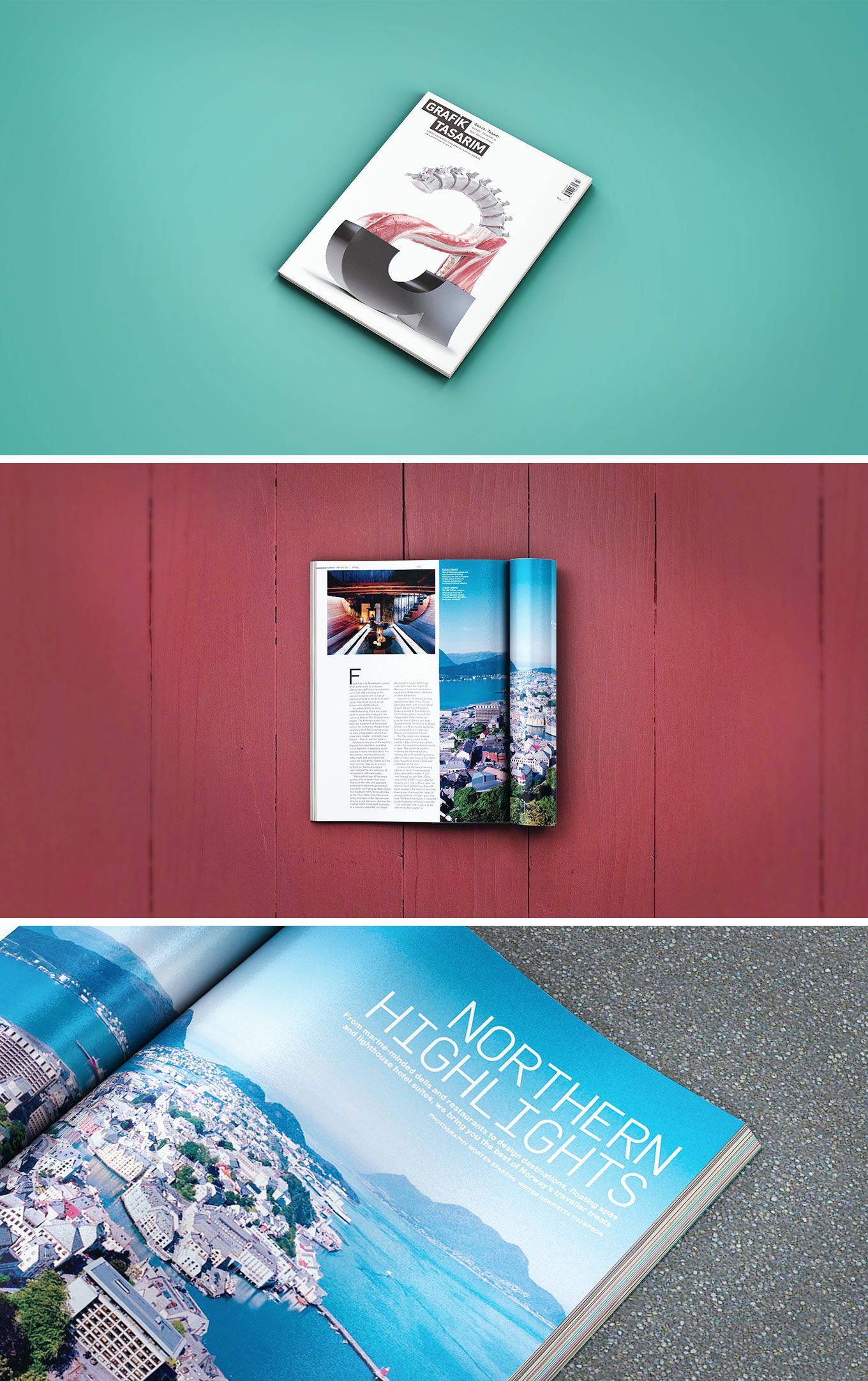 Download Mockup Magazine Psd Gratuit Yellowimages