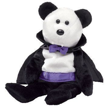 TY Beanie Baby - COUNT the Halloween Bear