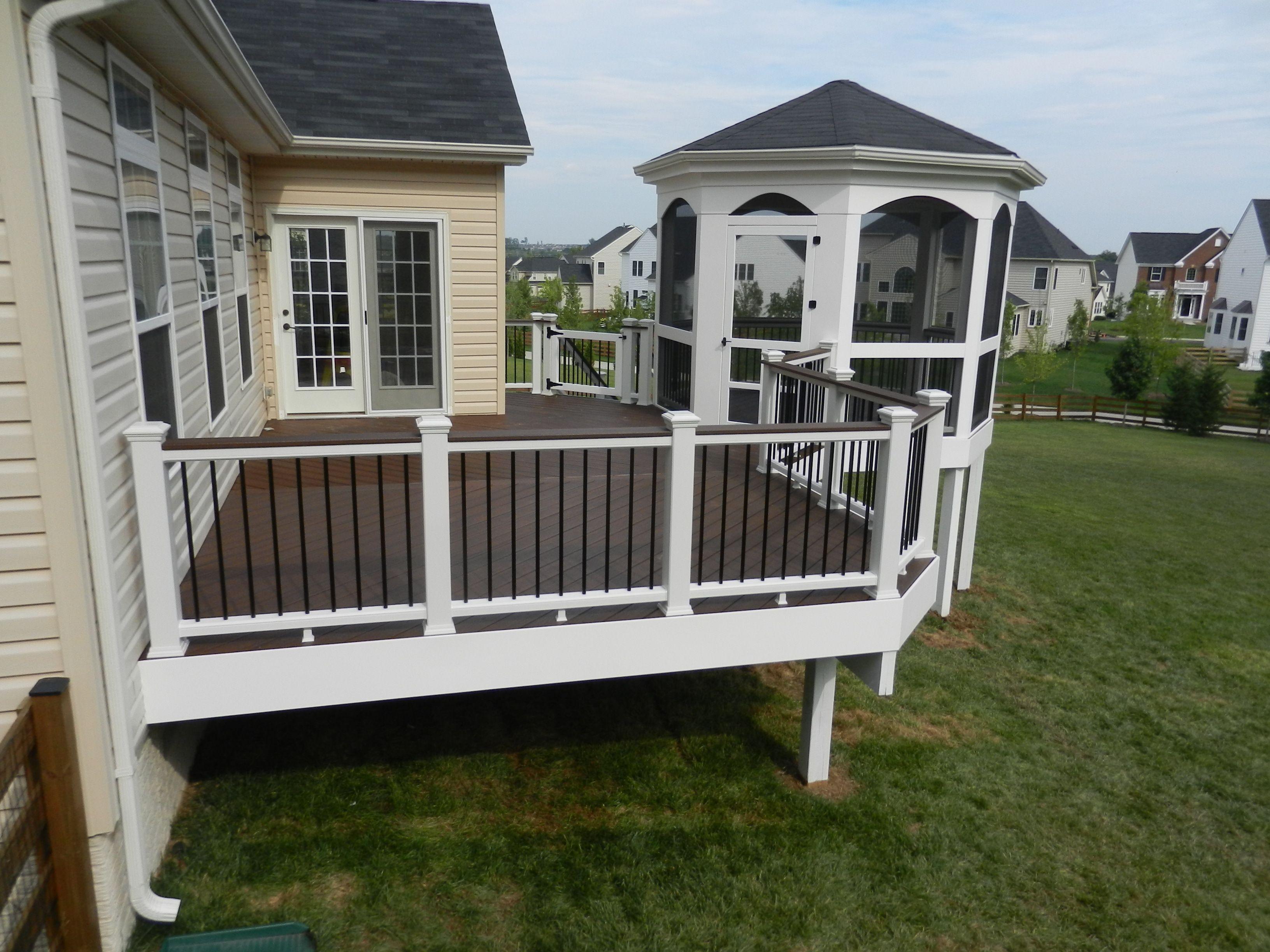 Virginia Deck And Patio Building A Deck Deck Diy Deck