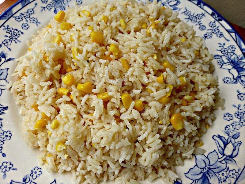 Resepi Nennie Khuzaifah Nasi Jagung Resep Makanan Makanan Memasak