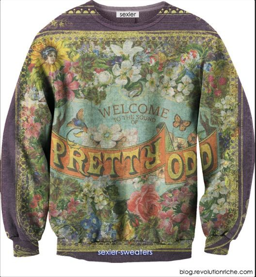 04fe990f3 Pretty odd Sexier sweater, panic at the discoo!! | My style ...