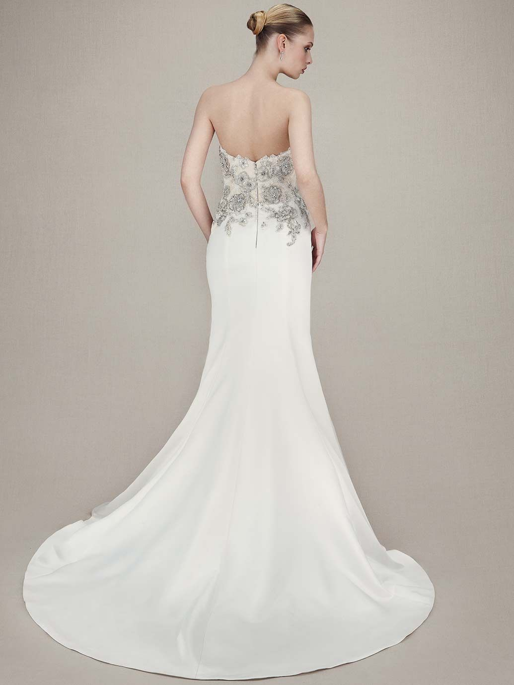 Enzoani 2016 Collection: Kassidy - back view