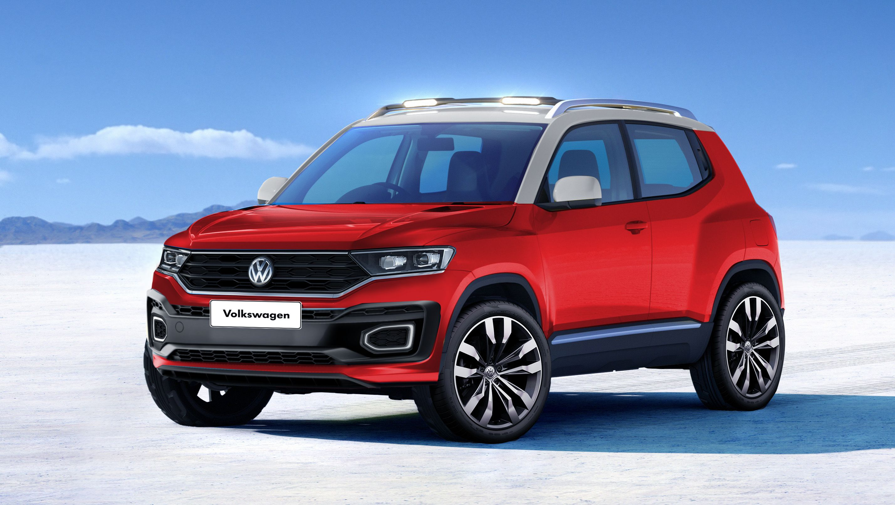 Check Out My Behance Project All New Volkswagen T Track Https