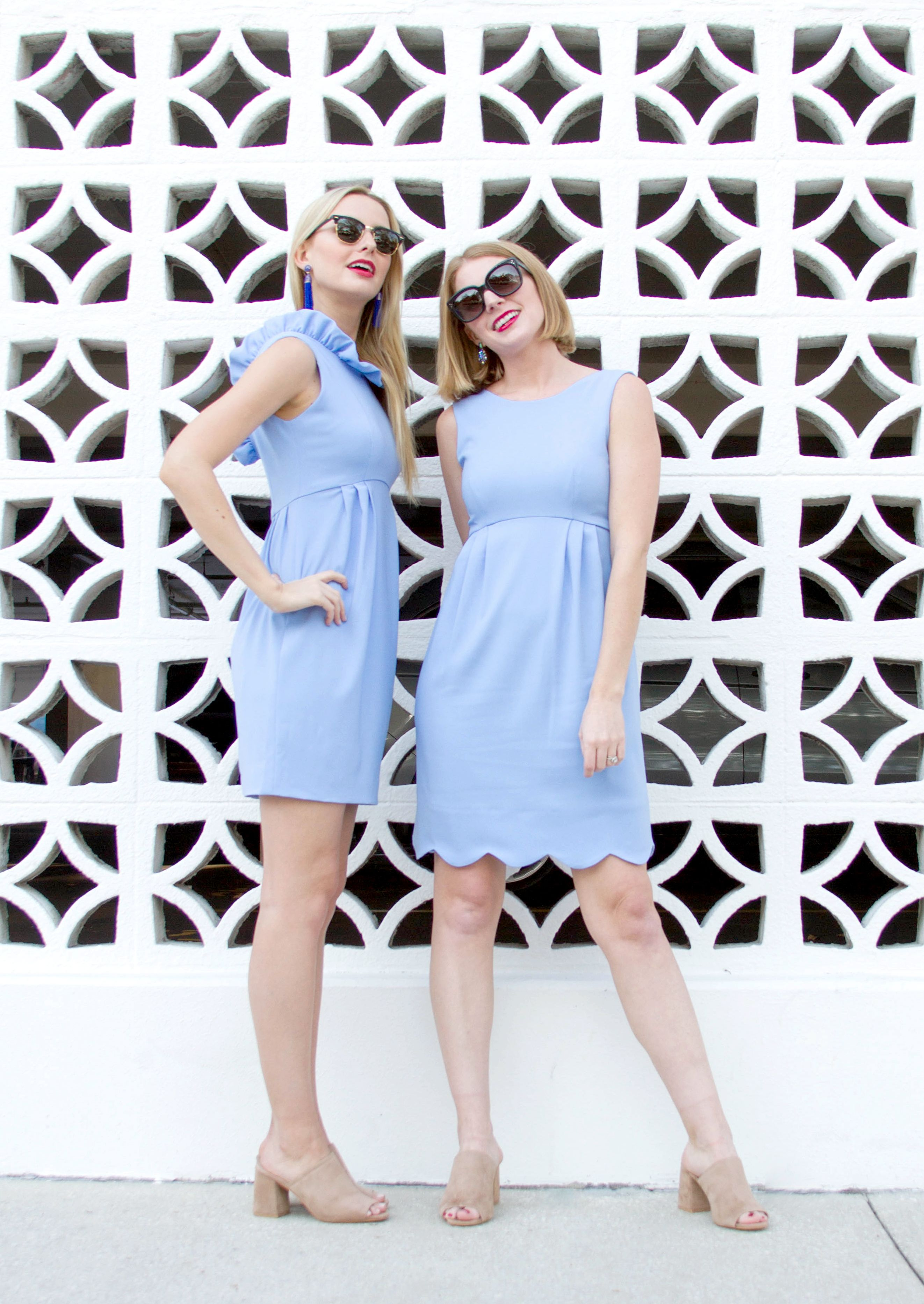 751099aa Sister Sister | Mono twinning | The Camilyn Beth Go Go Dress and Saturday  Dress in Periwinkle | Spring Dresses