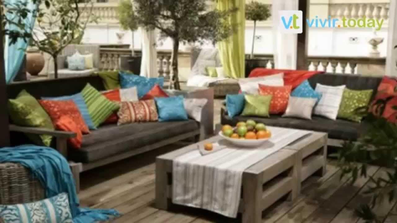 creativas ideas para decorar tu terraza y jardin
