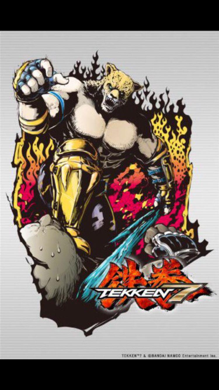 Tekken 7 King Character Art Tekken 7 Character Costumes