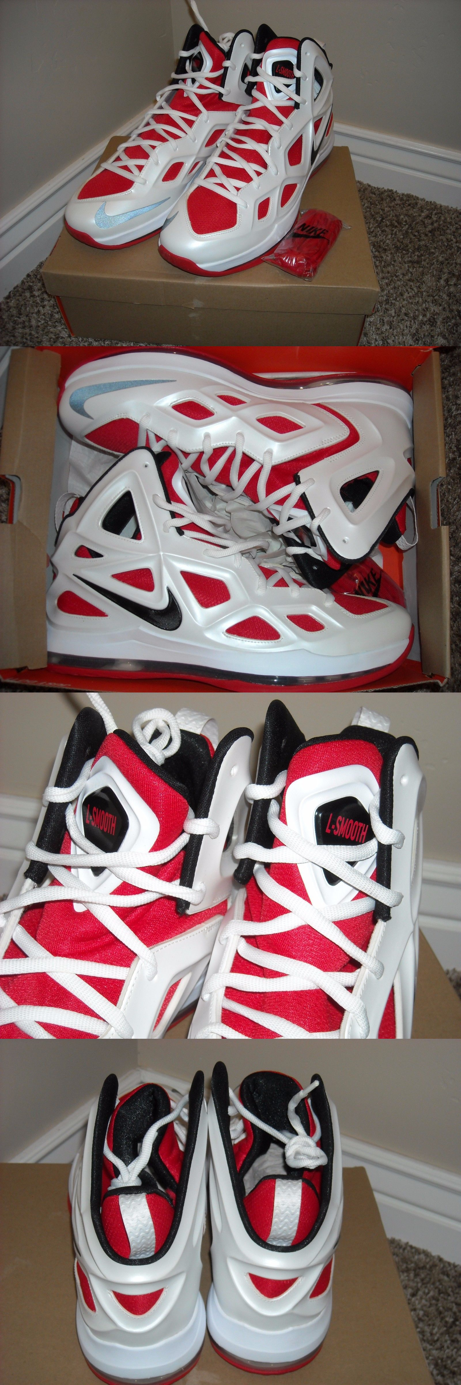 bbe5b484f1ff ... Basketball-NBA 50135 Lamarcus Aldridge Spurs Owned Pe Nike Hyperposite  Promo Sample Shoes ...